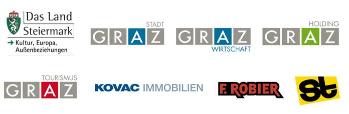 Logos Partner Architektursommer 2015