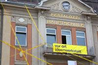 Vorortideenwerkstatt Oktober 2013, die Baustelle startet... (c) Freisinger, Leoben