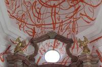 Die Andreaskapelle, gestaltet von Otto Zitko  © AndräKunst